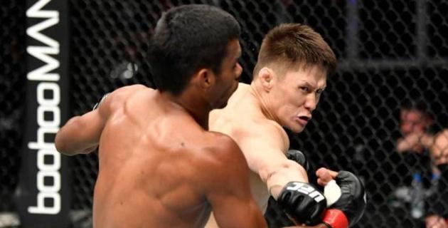 Опубликовано видео с разбором дебютного боя казахстанца Жумагулова в UFC