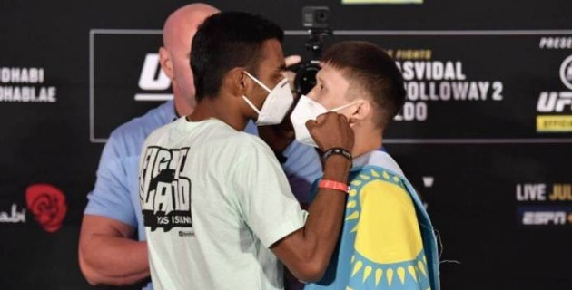 Узбекский боец UFC вынес вердикт по дебютному бою казахстанца Жумагулова в промоушене