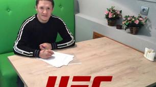 Сколько боев и какие гонорары? Стали известны условия контракта казахстанца Жумагулова с UFC