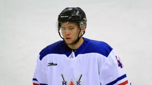 Хоккеист из чемпионата Казахстана подписал контракт с клубом КХЛ