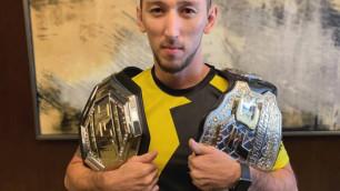 Ушел из нефтяной компании ради боев, жил в Китае, теперь у него есть первый чемпион. История самого успешного казахстанца в UFC