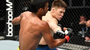 В США разобрали дебютный бой казахстанца Жумагулова в UFC и назвали ключевой фактор