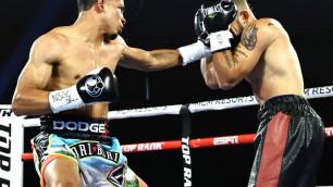 Непобежденного боксера нокаутировали в первом раунде