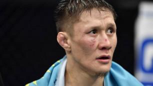 Стал известен срок отстранения от боев казахстанца Жумагулова после дебюта в UFC