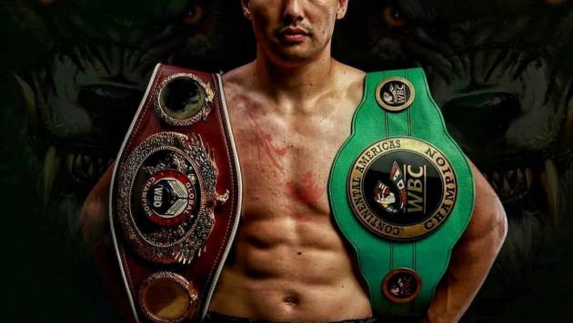 Непобежденный казахстанский боксер с двумя титулами объявил о возвращении в США и планах по боям