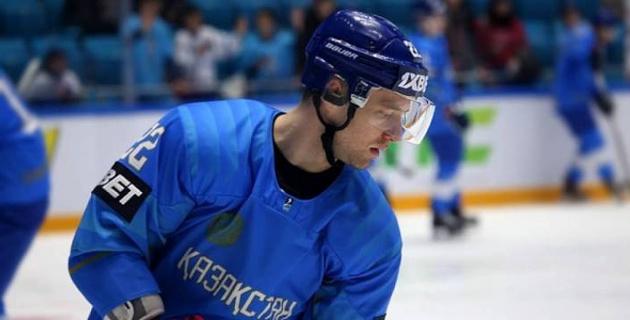 Хоккеист сборной Казахстана определился с игровым номером в российском клубе