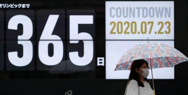 Обратный отсчет до начала Олимпиады-2020 запустили в Токио