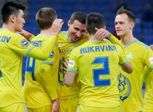 """""""Астана"""" оказалась второй в рейтинге на первом этапе Лиги чемпионов"""