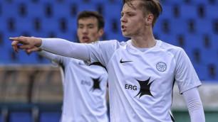 20-летний казахстанский футболист подпишет контракт с восьмикратным чемпионом из Европы