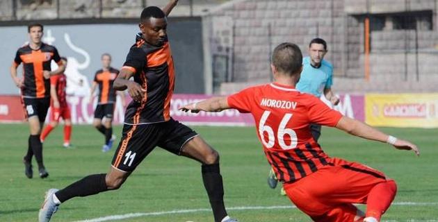Нигерийский футболист из сборной Армении заинтересовал казахстанские клубы