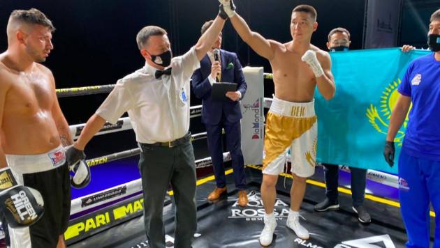 Видео боя, или как чемпион Азии из Казахстана нокаутировал соперника с 19 победами