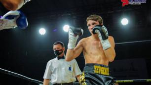 Видео нокдаунов и нокаута, или как казахстанский боксер дебютировал в профи