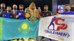 WBC обратился к казахстанскому боксеру после победы в бою за три титула