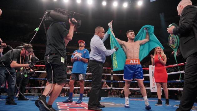 Титул WBC в андеркарте Головкина. Как Ахмедов стремительно разобрался с боксером из США