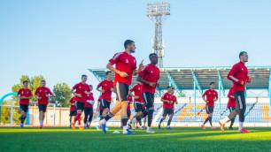 Видео изящного штрафного, или как клуб первой лиги победил участника Лиги Европы от Казахстана