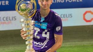 """""""Многие в нас не верили, но мы сделали это"""". Футболист сборной Казахстана - о первом трофее в Европе"""