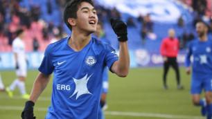 Стало известно, в какой российский клуб перейдет футболист молодежной сборной Казахстана