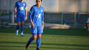 Прямая трансляция дебютного матча футболиста молодежной сборной Казахстана за российский клуб