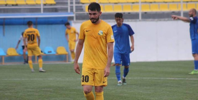 Французский футболист оформил дубль за казахстанский клуб