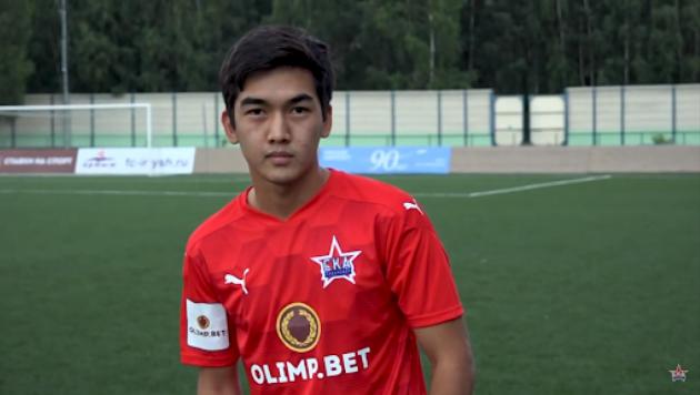 Футболист молодежной сборной Казахстана дебютировал в основе за российский клуб