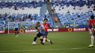 Болельщики оценили дебют футболиста молодежной сборной Казахстана в основе за российский клуб