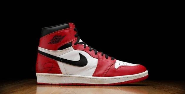 Кроссовки Майкла Джордана проданы за рекордную сумму