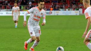 Клуб российской премьер-лиги отправил казахского футболиста в аренду