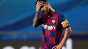 """Месси решил покинуть """"Барселону"""" после разгрома 2:8 в Лиге чемпионов"""