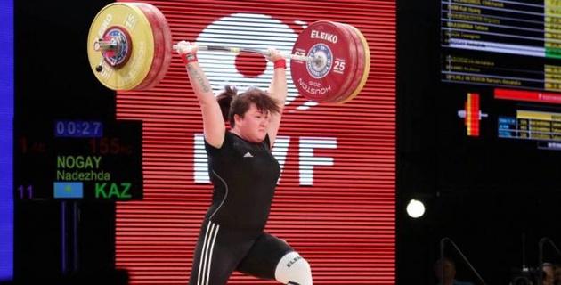 Выигравшая пять раз ЧМ тяжелоатлетка из Казахстана дисквалифицирована за допинг