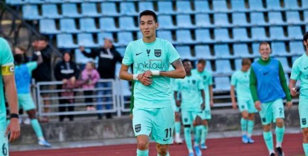 Зарубежный клуб без казахстанского форварда потерял очки в матче с аутсайдером
