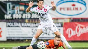 Георгий Жуков сменил игровой номер в польском клубе
