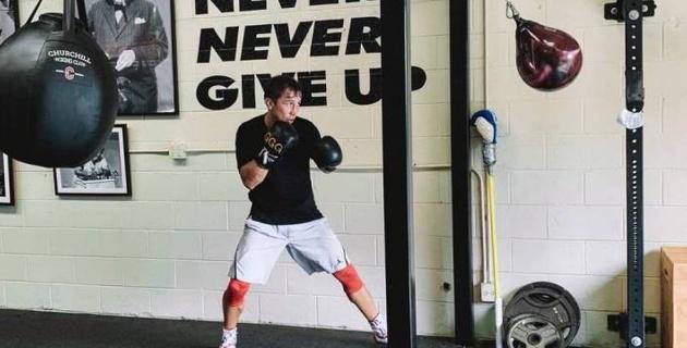 Геннадий Головкин вернулся к тренировкам в Big Bear