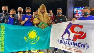 Непобежденный казахстанец с тремя титулами вошел в топ-15 рейтинга WBC