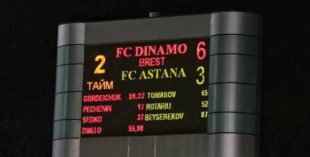 """""""Астана"""" впервые не смогла пройти белорусский клуб в еврокубках"""
