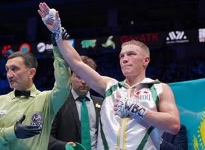 Непобежденный казахстанец с титулом от WBC получил в соперники боксера с 47 боями