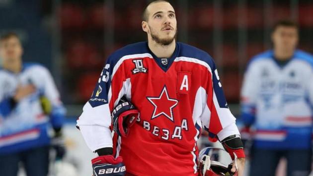 Казахстанский клуб продал хоккеиста с опытом игры в КХЛ