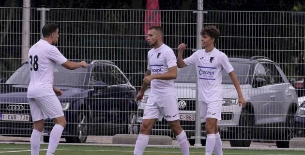 Казахстанский футболист оформил пента-трик за бельгийский клуб