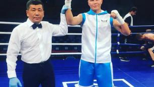 Непобежденные казахстанские боксеры выдали бой с нокдауном