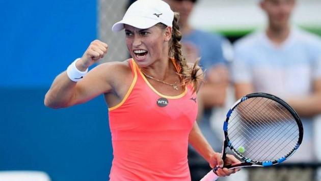 Юлия Путинцева обыграла 36-ю ракетку мира и вышла во второй круг турнира в Нью-Йорке