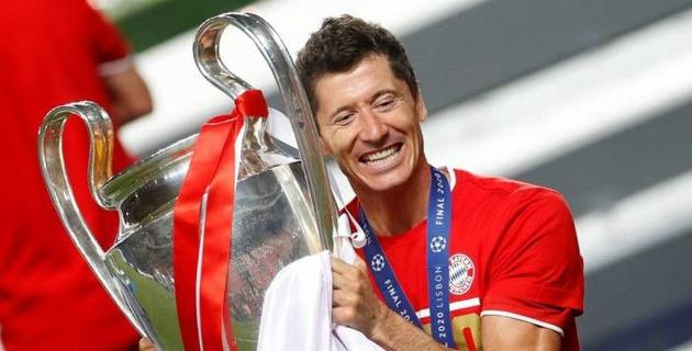 Левандовски выиграл требл и вошел в историю футбола