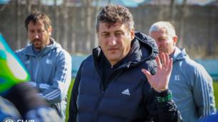 """Цхададзе назвал ключевой фактор в первом матче """"Ордабасы"""" в Лиге Европы"""