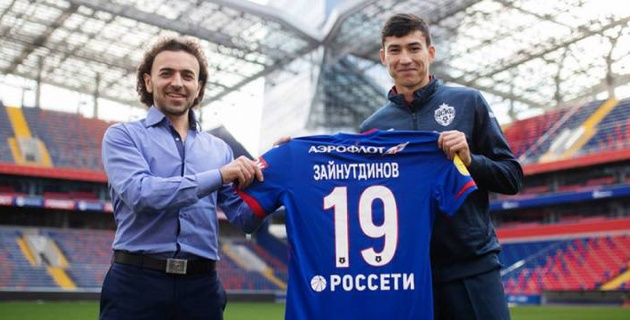 Зайнутдинов попал в заявку ЦСКА на первый матч после перехода
