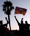 "Фанаты ""Барселоны"" устроили акцию протеста из-за ухода Месси"