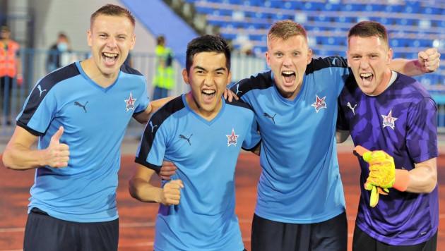 Видео гола, или как казахстанский футболист забил с пенальти и помог российскому клубу вырвать победу в кубке