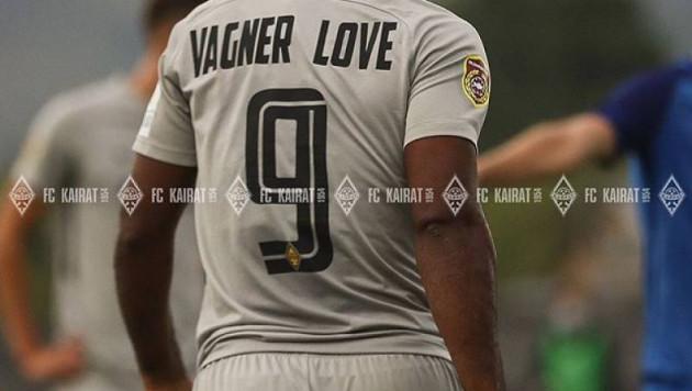 """Вагнер Лав высказался о первых голах за """"Кайрат"""" и разгромной победе в Лиге Европы"""