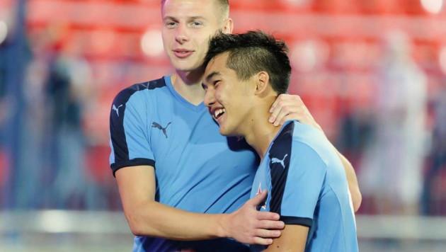 19-летний казахстанец сделал первый ассист и помог своей команде выиграть матч в чемпионате России
