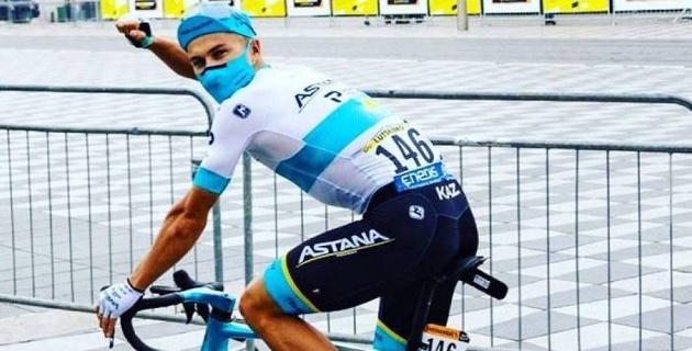"""Луценко из """"Астаны"""" отыграл 10 позиций и поднялся на 13-е место в общем зачете """"Тур де Франс"""""""