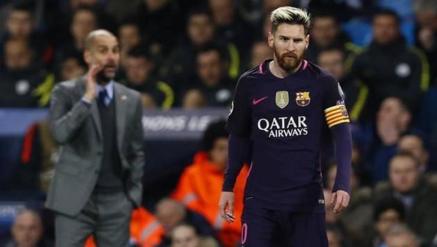 """Гвардиола дал совет Месси по поводу """"Барселоны"""""""