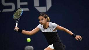 """Зарина Дияс проиграла партию """"под ноль"""" и вылетела с US Open"""