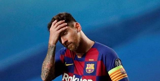"""Месси назвали предателем за желание покинуть """"Барселону"""""""